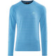Mountain Equipment Redline LS Tee Men Alto Blue Stripe